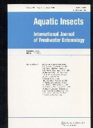 Aquatic insects  Aquatic insects Vol. 20 Number 1-4, 1998 (4 Hefte)