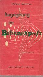 Hildesheimer,Wolfgang  Begegnung im Balkanexpreß
