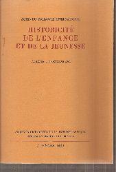 Comite des Archives Historiques de la Jeunesse  Historicite de L