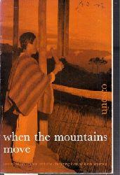 Behrmann,Daniel  When the Mountains Move