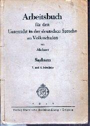 Alschner  Arbeitsbuch für den Unterricht in der deutschen Sprache an