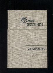 Brüning,Kurt und Konrad Frenzel  Australien, Ozeanien, Polargebiete, Weltmeere