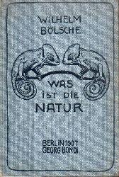 Bölsche,Wilhelm  Was ist die Natur ?