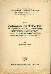Altrup,Hermann F.  Die Flächennutzungsplanung im jüngsten Wachstumsprozess deutscher