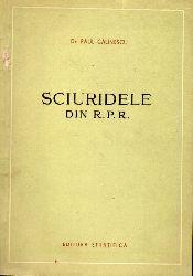 Cälinescu,Raul  Sciuridele Din R.P.R.