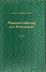 Schmalfuß,Karl  Pflanzenernährung und Bodenkunde