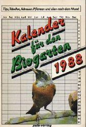 Grünefeld,Dettmer  Kalender für den Biogarten 1988