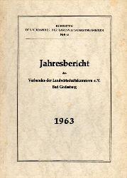 Verband der Landwirtschaftskammern e.V.  Jahresbericht 1963