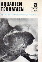 Aquarien Terrarien  Aquarien Terrarien 22.Jahrgang 1975 (12 Hefte)