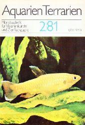 Aquarien Terrarien  Aquarien Terrarien 28.Jahrgang 1981 (12 Hefte)