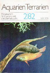 Aquarien Terrarien  Aquarien Terrarien 29.Jahrgang 1982 (12 Hefte)