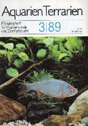 Aquarien Terrarien  Aquarien Terrarien 36.Jahrgang 1988 Heft 3 bis 6 (4 Hefte)