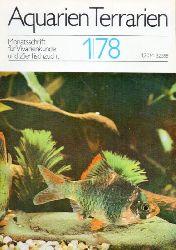 Aquarien Terrarien  Aquarien Terrarien 25.Jahrgang 1978 Heft 1 bis 9 (9 Hefte)