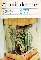 Aquarien Terrarien  Aquarien Terrarien 24.Jahrgang 1977 Heft 6 bis 12 (7 Hefte)