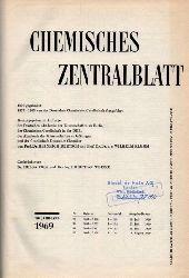 Chemisches Zentralblatt  Chemisches Zentralblatt 140.Jahrgang 1969 (Nr.29, 16.Juli bis Nr.32