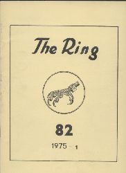 The Ring  The Ring Jahrgang 1975 Band 82-84/85. Heft 1-3/4 (3 Hefte)