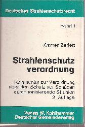 Kramer,Rainer+Georg Zerlett  Strahlenschutzverordnung