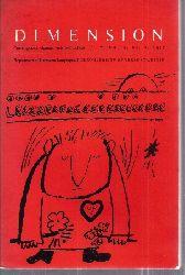 Dimension  Dimension Volume X, No. 3.1977