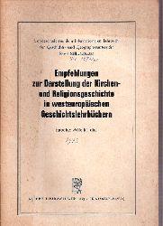 Alba,Andre+E.H.Dance+weitere  Empfehlungen zur Darstellung der Kirchen- und Religionsgeschichte in