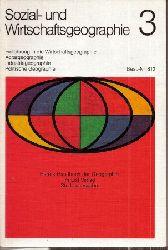 HARMS Handbuch der Geographie  Sozial- und Wirtschaftsgeographie Band 3