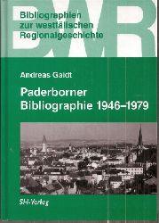 Gaidt,Andreas  Paderborner Bibliographie 1946-1979