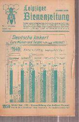 Leipziger Bienenzeitung  Leipziger Bienenzeitung 64.Jahrgang 1950 Heft 1,3 bis 12 (11 Hefte)