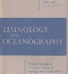Limnology and Oceanography  Volume 30,Number 4 July 1985