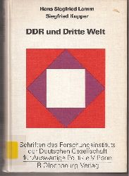Lamm,Hans Siegfried+Siegfried Kupper  DDR und Dritte Welt
