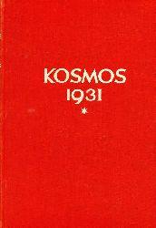Kosmos  Kosmos 28.Jahrgang 1931 (1Band)