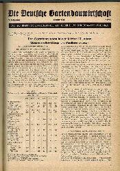 Die Deutsche Gartenbauwirtschaft  Die Deutsche Gartenbauwirtschaft 9.Jahrgang 1961 (1 Band)