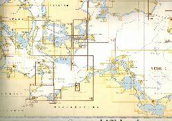 Sportschiffahrtskarten  Sportschiffahrtskarten Lübecker Bucht bis Bornholm Kopenhagen