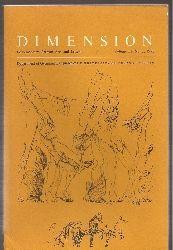 Dimension  Volume 11, No. 2.1978