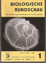 Biologische Rundschau  Band 45,Jahr 1986,Hefte 1 bis 6 (6 Hefte)