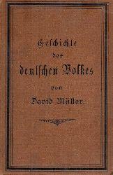 Müller,David  Geschichte des deutschen Volkes