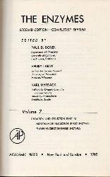 Boyer,Paul D.and Henry Lardy and Karl Myrbäck  The Enzymes Volume 7