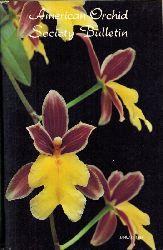 American Orchid Society  American Orchid Society Bulletin 1984 Heft 1 bis 12 (12 Hefte)