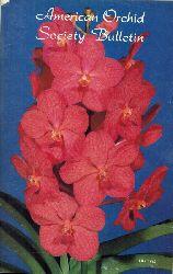 American Orchid Society  American Orchid Society Bulletin 1985 Heft 1 bis 12 (12 Hefte)