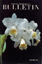American Orchid Society  American Orchid Society Bulletin 1988 Heft 1 bis 12 (12 Hefte)