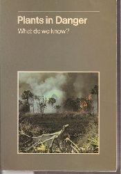 Davis,Stephen D.+Stephen J.M. Droop+weitere  Plants in Danger