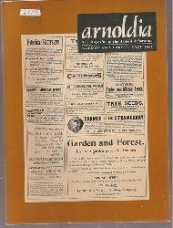 arnoldia  Volume 60. Jahr 2000, Number 1 bis 4 (4 Hefte)
