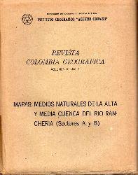 Instituto Geografica Agustin Codazzi  Revista Colombia Geografica Volumen VII No.2.
