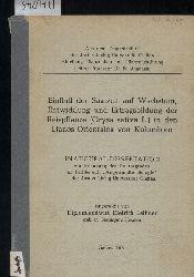 Leihner,Dietrich  Einfluß der Saatzeit auf Wachstum, Entwicklung und Ertragsbildung der