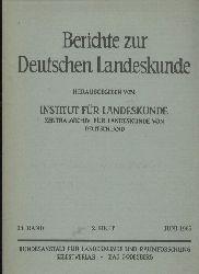 Berichte zur Deutschen Landeskunde  34.Band 1965.2.Heft Juni