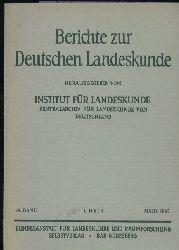Berichte zur Deutschen Landeskunde  38.Band 1967.1.Heft März