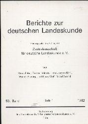 Berichte zur Deutschen Landeskunde  56.Band 1982.Heft 1