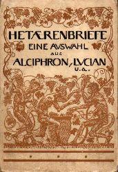Alciphron,Lucian  Hetaerenbriefe