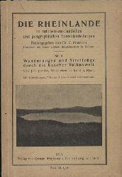 Jacobs,Joh.  Wanderungen und Streifzüge durch die Laacher Vulkanwelt