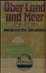 Korn,Walter  Über Land und Meer