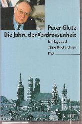 Glotz,Peter  Jahre der Verdrossenheit