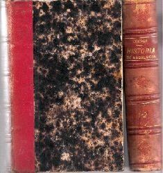 Guichot,Joaquin  Historia general de Andalucia 1.Parte Tomo I. bis VIII. (4 Bände)